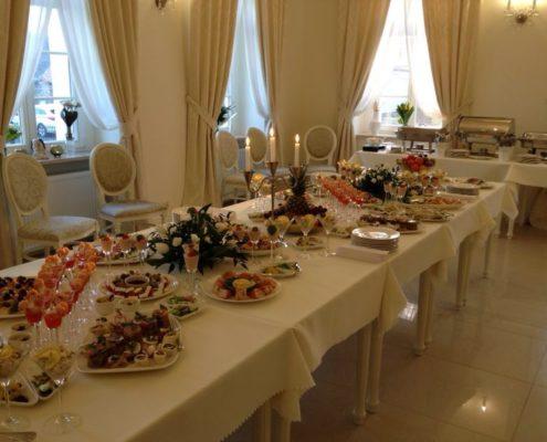 Przyjęcia - restauracja w hotelu