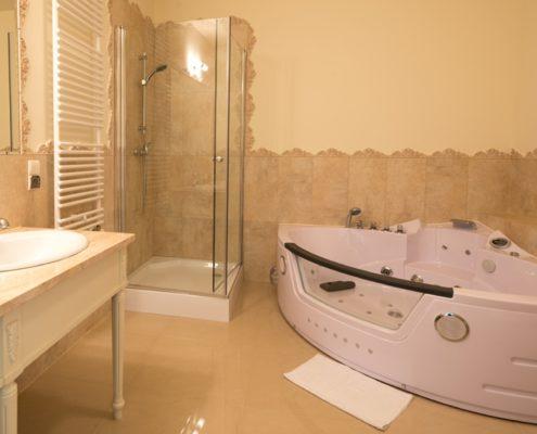 łazienka w apartamencie Hotel SPA Akacjowy Dwor