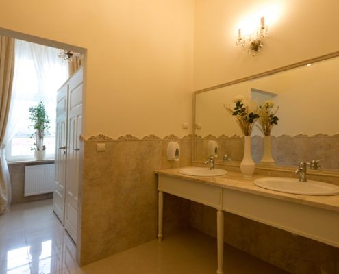 Toaleta Hotel SPA Akacjowy Dwor
