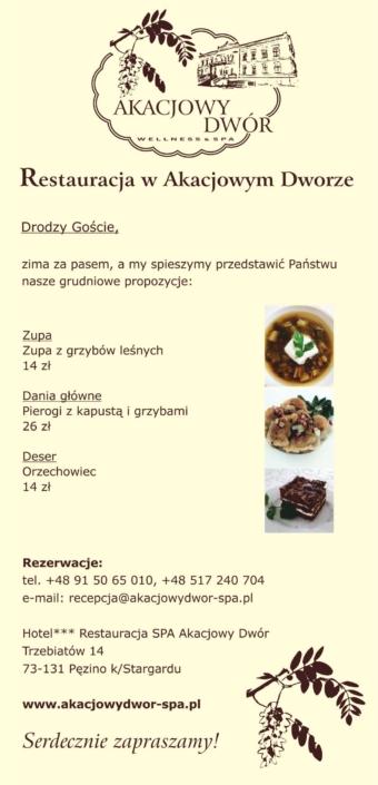 menu na grudzien
